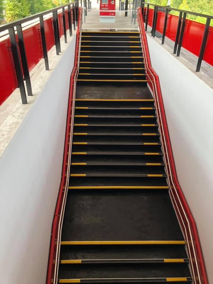 Gulvlægning på trapper